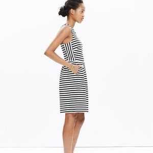 Madewell Striped Afternoon Dress